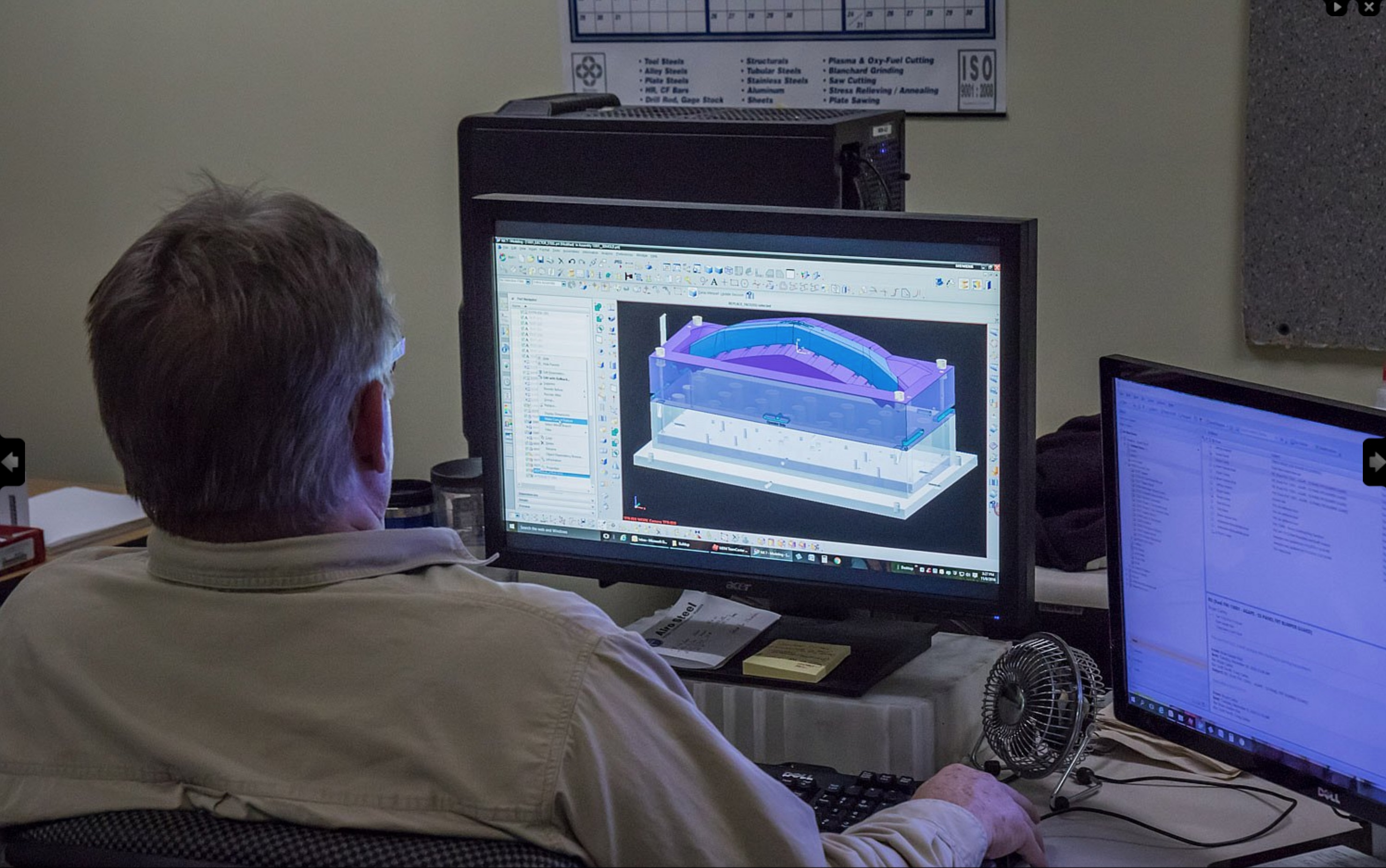 Unigraphics CADCAM at Model Die Mold