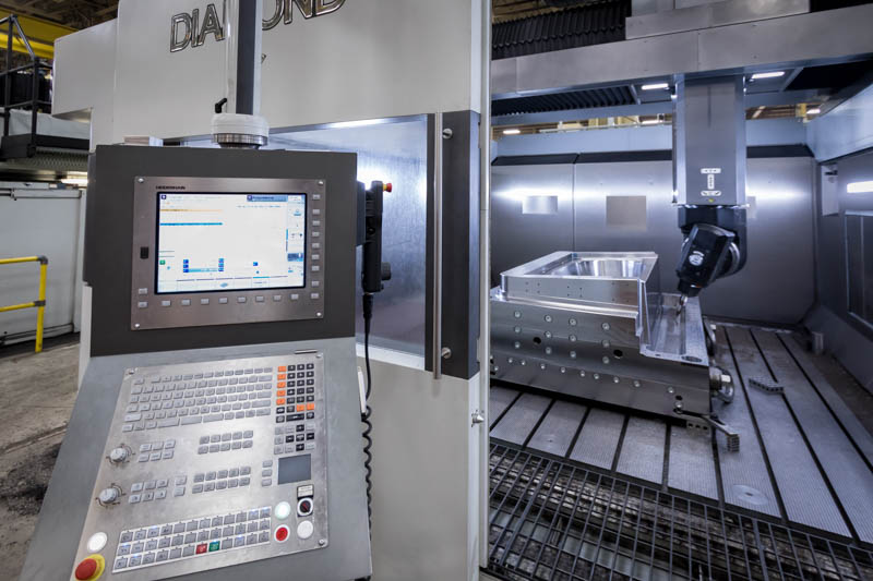 Parpas Diamond 30 LInear 5-axis CNC Machining Center